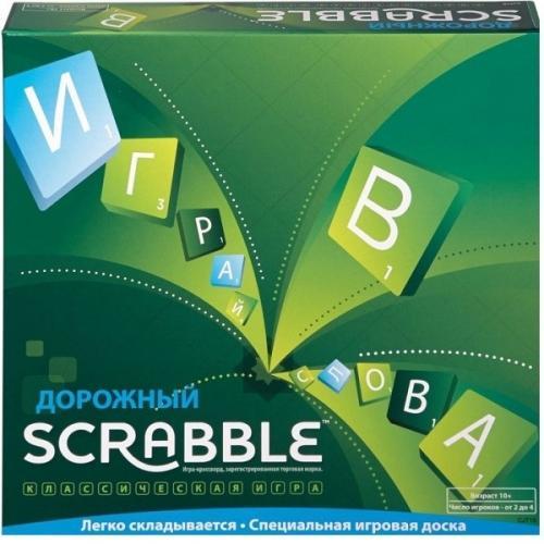 Скрабл дорожный (Scrabble). Новое издание (рус)