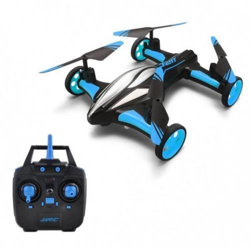 JJRC H23 Blue − дрон-машинка + БАТАРЕЙКИ В ПОДАРОК