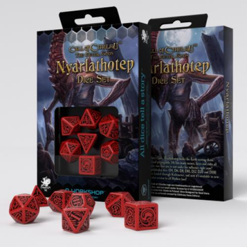 Набор кубиков COC The Outer Gods Nyarlathotep Dice Set