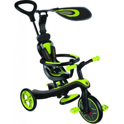 Велосипед детский GLOBBER серии EXPLORER TRIKE 4в1, зеленый, до 20кг, 3 колеса
