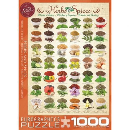Пазл Eurographics Травы и специи, 1000 элементов