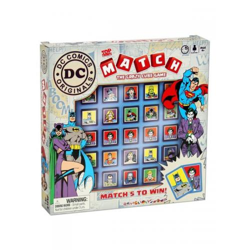 Настольная игра Top Trumps Match DC Comics