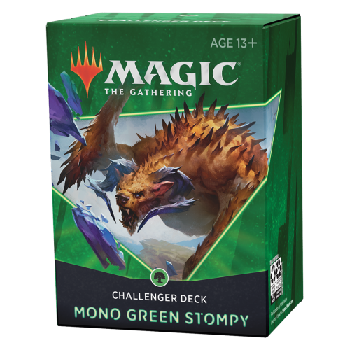 МТГ (АНГЛ): Челенджер Колода 2021 (Challenger Decks 2021) Mono Green Stompy