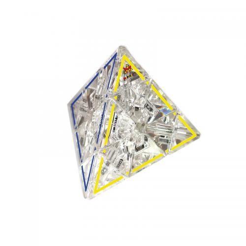 Meffert's Crystal Pyraminx   Прозрачная пирамидка премиум