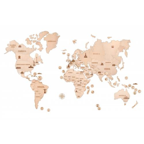 Карта мира XXL 2000*1200 mm