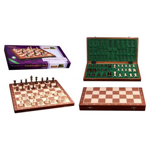 Шахматы турнирные N6 Intarsia № 2056