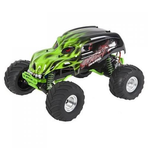 Автомобиль Traxxas Skully Monster 1:10 RTR 413 мм 2WD 2,4 ГГц (36064-1 Green)
