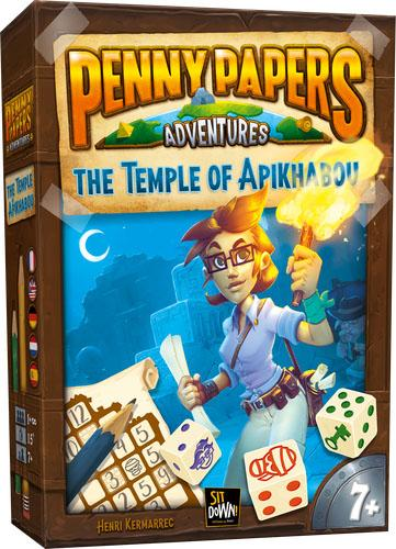 Penny Papers Adventures: The Temple of Apikhabou (Пенни Пейперс: Храм Апикабу)
