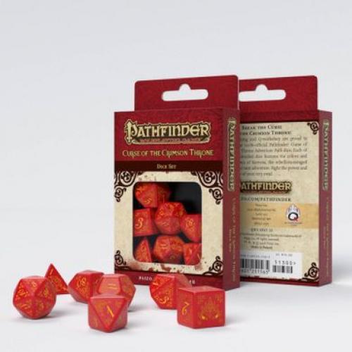 Набор кубиков Pathfinder Curse of crimson throne