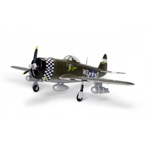 Самолет FMS Republic P-47 Thunderbolt PNP 1400 мм (FMS019-1 Green) CBGames