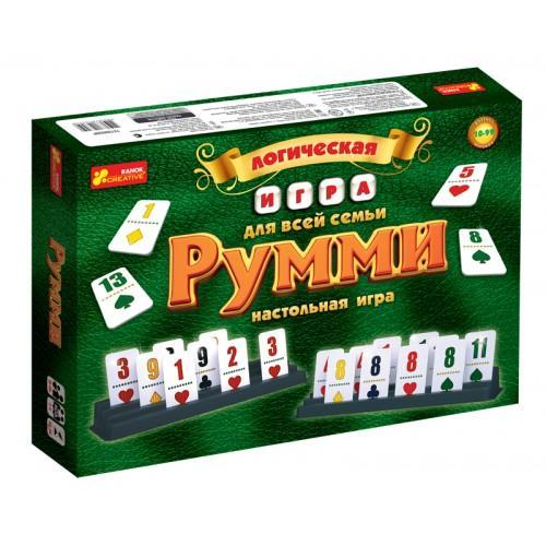 Логическая игра Ranok-Creative Румми (1982/12120028Р)