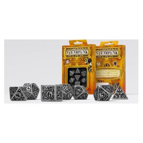 Набор кубиков Metal Steampunk Dice Set