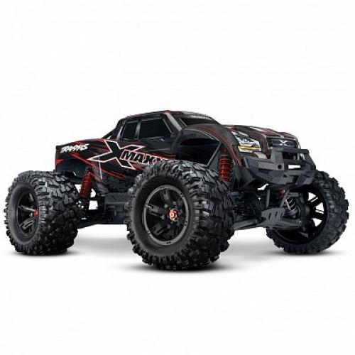 Автомобиль Traxxas X-Maxx Brushless Monster 8S 1:5 RTR 779 мм 4WD TSM 2,4 ГГц (77086-4 Red)