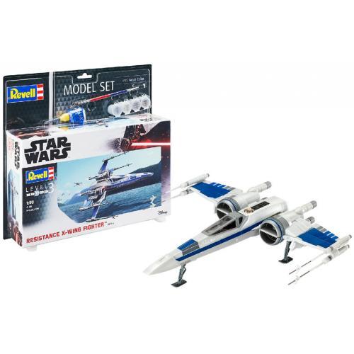 Сборная модель-копия Revell набор Звёздный истребитель Сопротивления уровень 3 масштаб 1:50