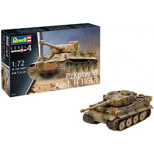 Сборная модель-копия Revell Танк Тигр уровень 4 масштаб 1:72