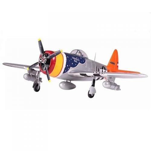 Самолет FMS Republic P-47 Thunderbolt PNP 1400 мм (FMS019-1 Silver) АКЦИЯ