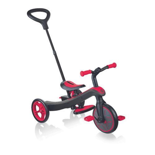 Велосипед детский GLOBBER серии EXPLORER TRIKE 4в1, красный, до 20кг, 3 колеса