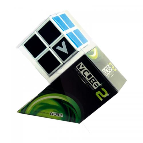 V-CUBE 2х2 white | Кубик 2х2 белый плоский