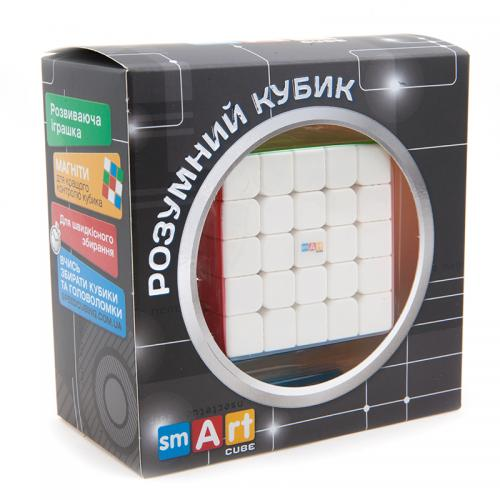 Smart Cube 5x5 Magnetic | Магнитный кубик 5х5 без наклеек