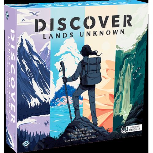 Discover: Lands Unknown (Остаться в Живых: Неизведанные Земли)