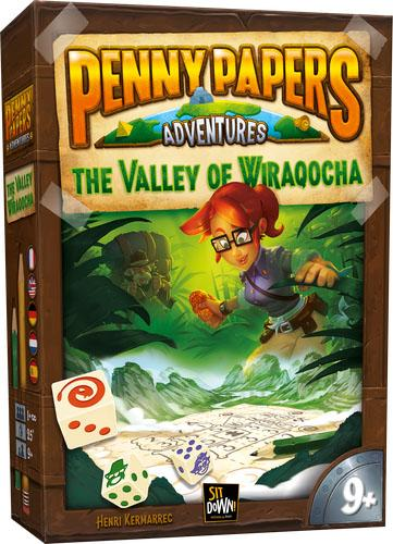 Penny Papers Adventures: Valley of Wiraqocha (Пенни Пейперс: Долина Виракоча)