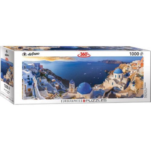 Пазл Eurographics Санторини, Греция, 1000 элементов панорамный