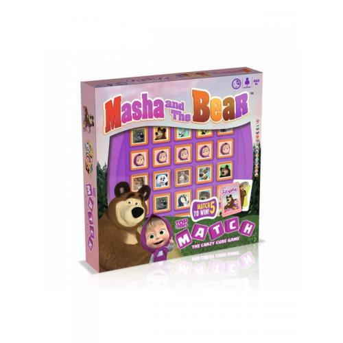 Настольная игра Top Trumps Match Masha and the Bear