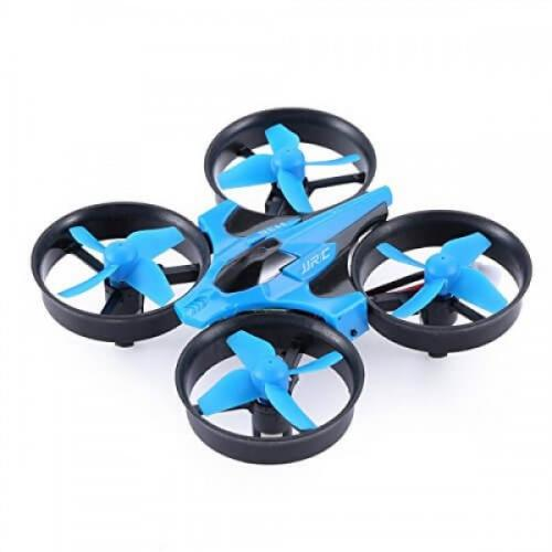 JJRC H36 Blue - ударостойкий мини-дрон