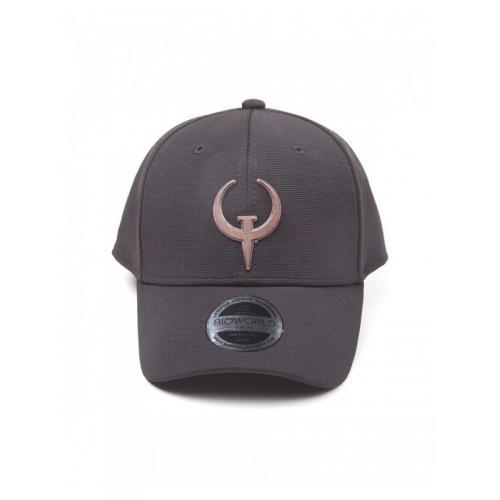 Официальная кепка  Quake - Classic Quake Logo Curved Bill Cap