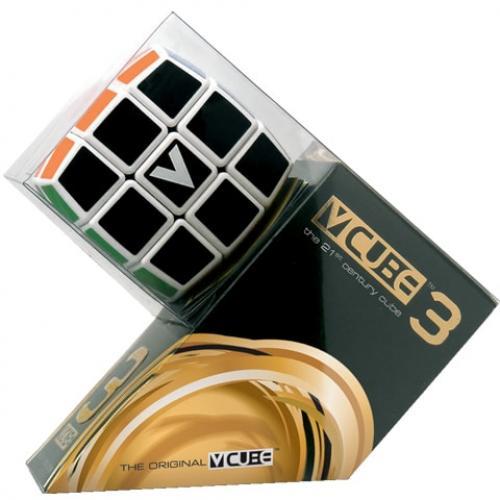 V-CUBE 3х3 White / Кубик 3х3 белый круглый