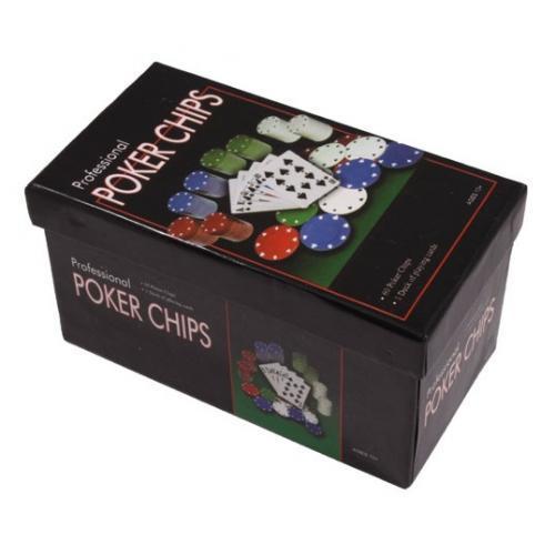 Покерный набор на 60 фишек в картонной коробке (арт. CC4060)