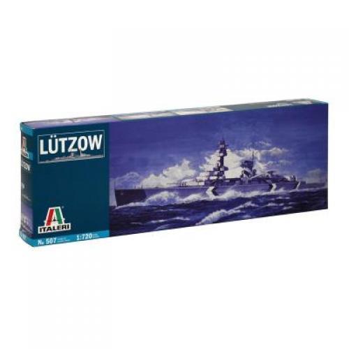 ITA 507 Немецкий тяжелый крейсер Lutzow 1/720