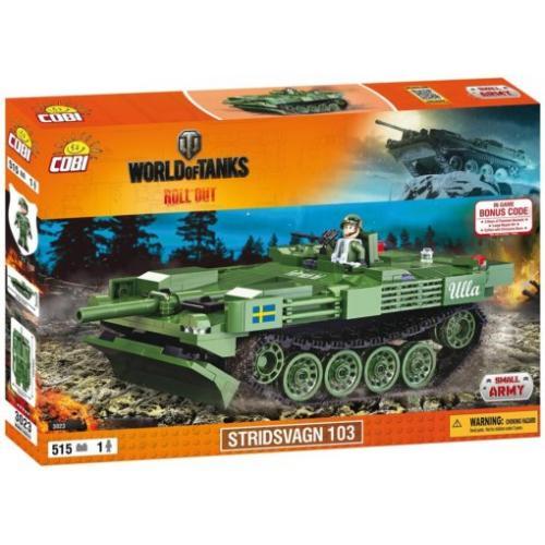 Конструктор COBI World Of Tanks Stridsvagn 103 (Strv.103), 515 деталей