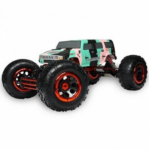 Автомобиль HSP Racing Big Climber Hummer 1:8 RTR 457 мм 4WD 2,4 ГГц (HSP94880T2)