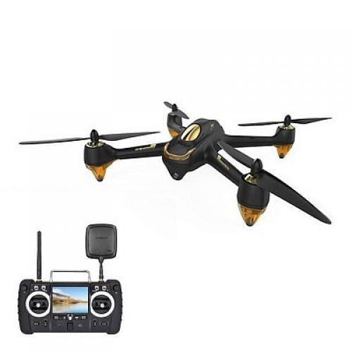 Квадрокоптер Hubsan X4 Pro High Edition FPV Brushless 5,8 ГГц HD GPS Altitude 2,4 ГГц RTF (H501S Black) CBGames