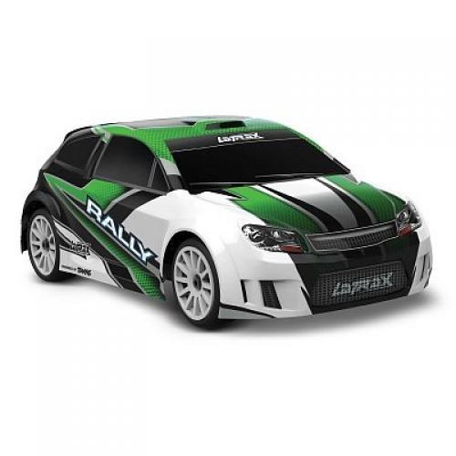 Автомобиль Traxxas LaTrax Rally Racer 1:18 RTR 265 мм 4WD 2,4 ГГц (75054-5 Green)