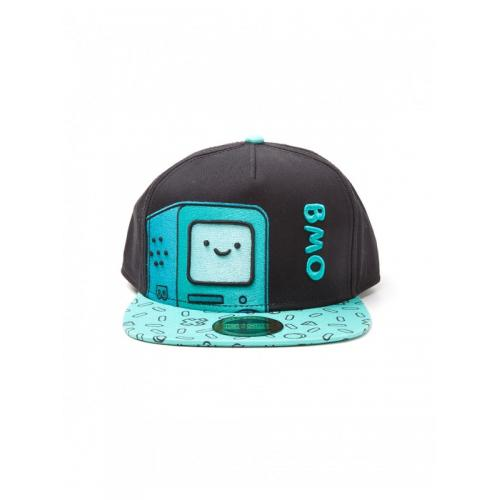 Официальный снепбек Adventure Time - BMO Snapback With Embroidery And Printed Bill