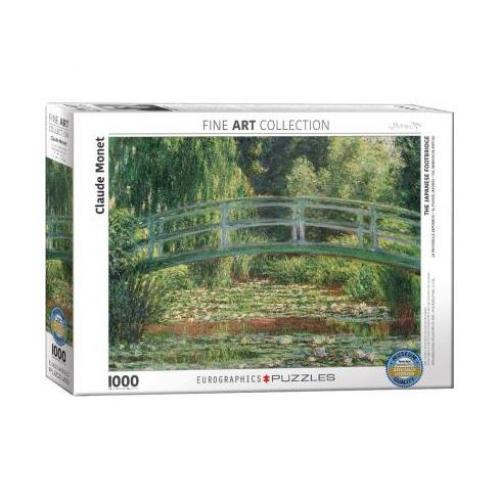 Пазл Eurographics Японский мостик. Клод Моне. 1000 элементов