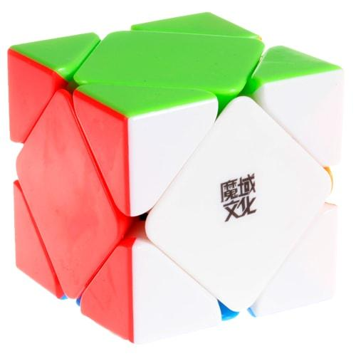 MoYu Magnetic Skewb stickerless | Магнитный Скьюб Мою
