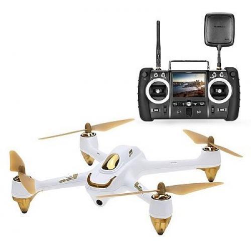 Квадрокоптер Hubsan X4 Pro High Edition FPV Brushless 5,8 ГГц HD GPS Altitude 2,4 ГГц RTF (H501S Pro High Edition White)