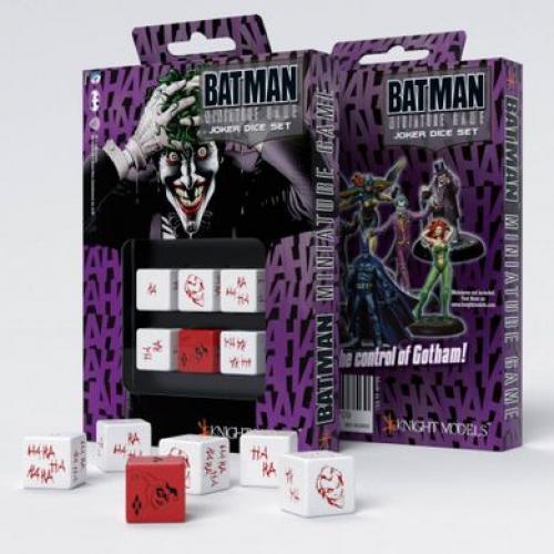 Набор кубиков Batman Miniature Game - D6 Joker Dice Set