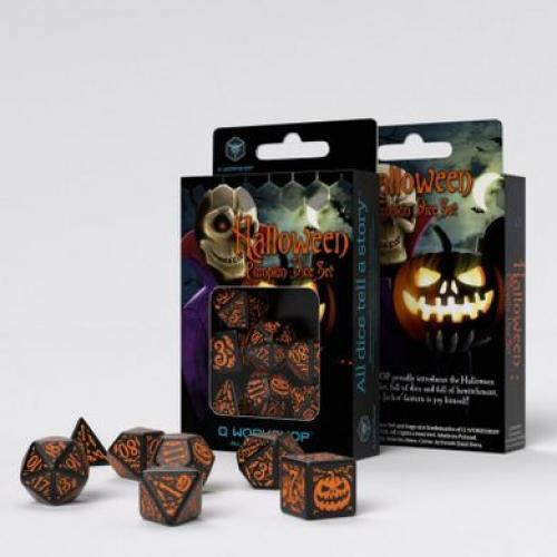 Набор кубиков Halloween Pumpkin Black & Orange