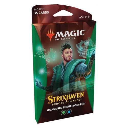 МТГ (АНГ): Стриксхейвен (Strixhaven: School of Mages) Тематический зелёный бустер