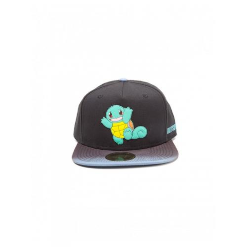 Официальный снепбек Pokemon - Dip Dye Snapback with Rubber Squirtle Patch