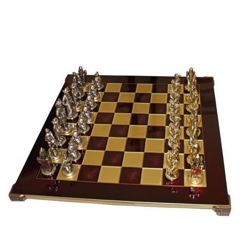 Manopoulos Шахматы Мушкетеры (красные) (S12RED), 44х44см, 8,4 кг