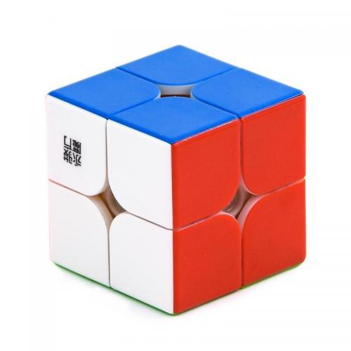 YJ 2x2 YuPo V2M Stickerless | Кубик ЮПо V2 2x2 магнитный