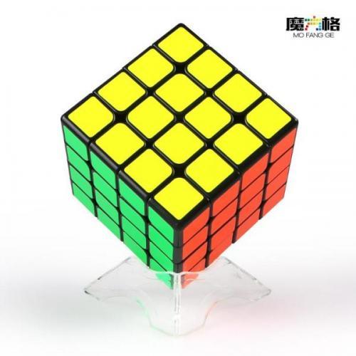 QiYi WuQue Mini M 4x4 Black | Кубик 4х4 Магнитный