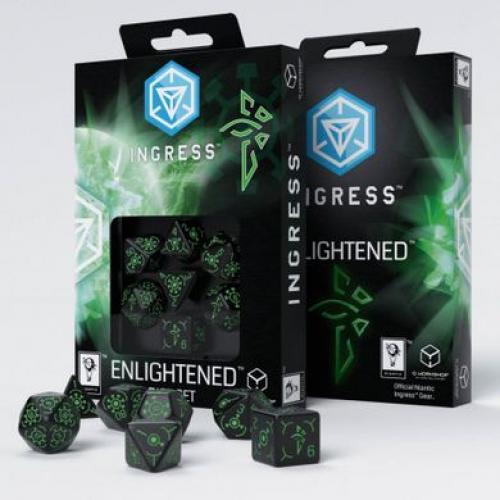 Набор кубиков Ingress Enlightened Dice Set