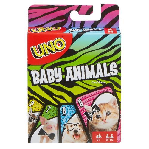 Уно Малыши-зверушки (UNO Baby Animals) CBGames
