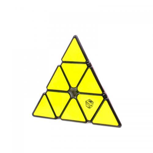 QiYi Pyraminx X-Man Bell V2 Magnetic Black | Пирамидка магнитная